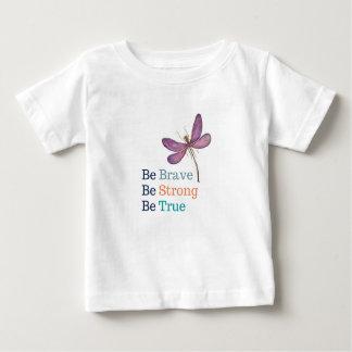 勇敢で強い本当のトンボ ベビーTシャツ