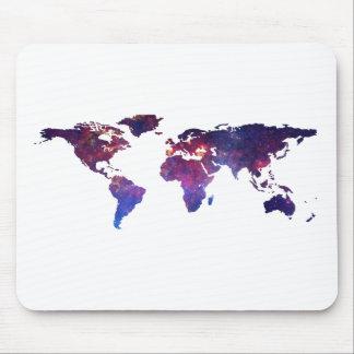 勇敢で新しい世界地図 マウスパッド