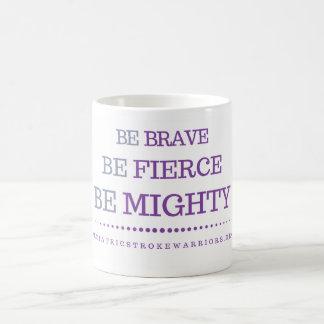 勇敢なマグがあって下さい コーヒーマグカップ