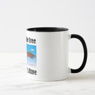 勇敢なマグのために自由のの家 マグカップ