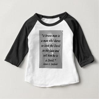 勇敢な人- James Garfield ベビーTシャツ