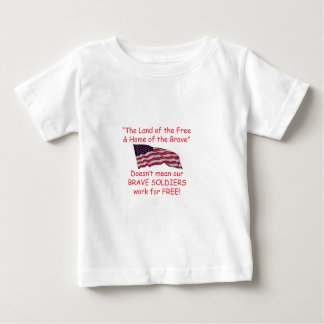 勇敢な兵士 ベビーTシャツ