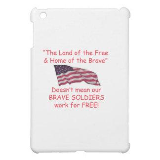 勇敢な兵士 iPad MINI カバー