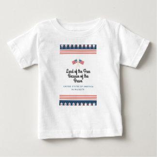 勇敢な幼児ワイシャツの家 ベビーTシャツ