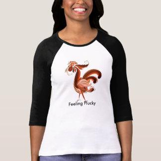勇敢な感じること Tシャツ