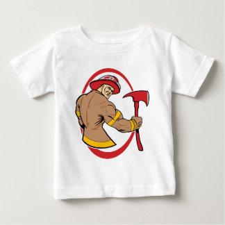勇敢な消防士 ベビーTシャツ