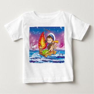 勇敢な船員 ベビーTシャツ