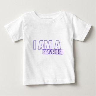 勇敢な英雄 ベビーTシャツ
