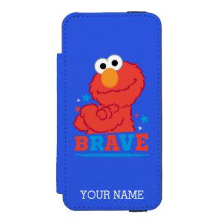勇敢なElmoは|あなたの名前を加えます iPhone SE/5/5sウォレットケース