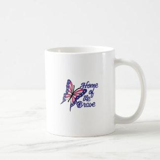 勇敢の コーヒーマグカップ