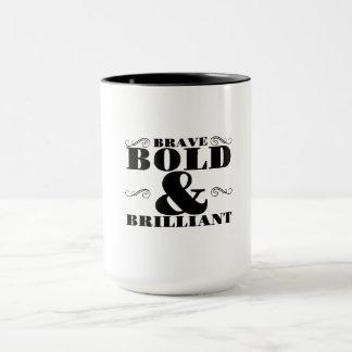勇敢 マグカップ