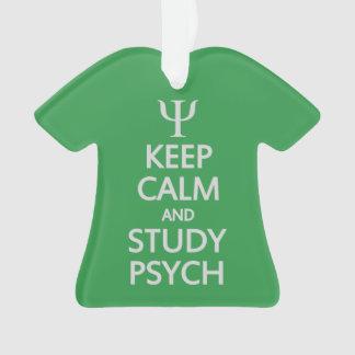 勉強のPsychの穏やかな及びカスタムなオーナメント保って下さい オーナメント