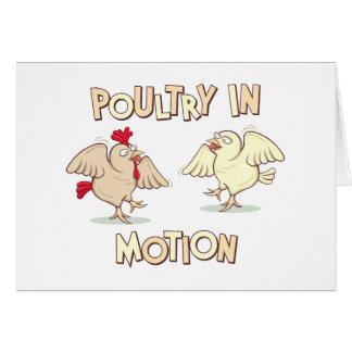 動きの家禽 カード