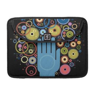 動きの概念 MacBook PROスリーブ