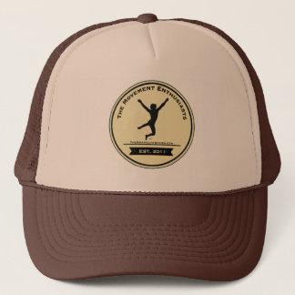 動きの熱狂者のトラック運転手の帽子ブラウン キャップ