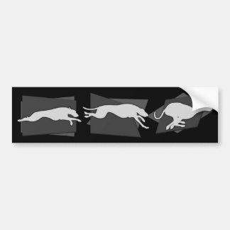 動きのSighthounds バンパーステッカー
