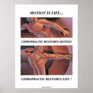 動きは生命ポスターです ポスター