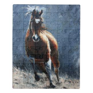 動き-馬のジグソーパズル ジグソーパズル