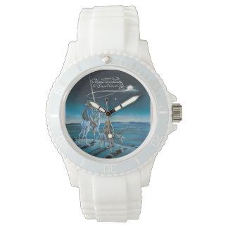 動く時間か。 @QUIXOTEdotTVによって 腕時計