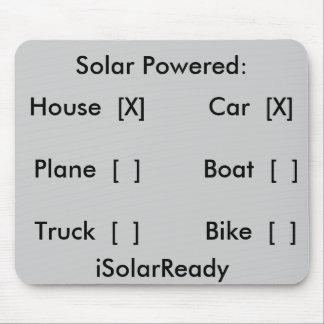 動力を与えられる太陽の: 、家[X]、車[X]、ボート[… マウスパッド