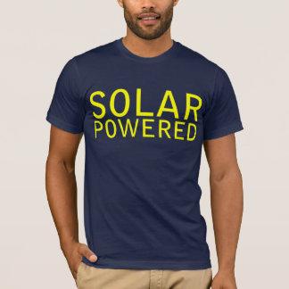 動力を与えられる太陽の Tシャツ