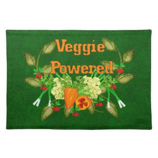 動力を与えられる野菜 ランチョンマット