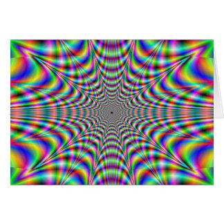 動悸を打つこと-目の錯覚 カード