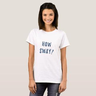 動揺いかに Tシャツ