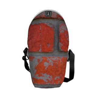 動揺してなオレンジ煉瓦小型メッセンジャーバッグ クーリエバッグ