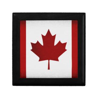 動揺してなカナダの旗 ギフトボックス