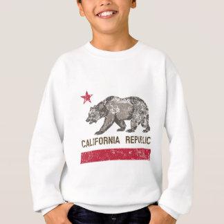 動揺してなカリフォルニア共和国 スウェットシャツ