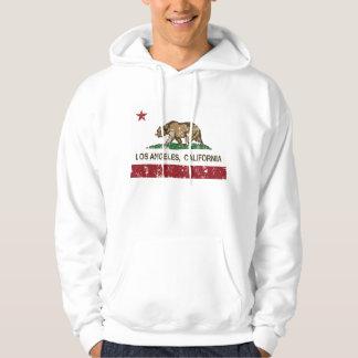 動揺してなカリフォルニア旗ロスアンジェルス パーカ
