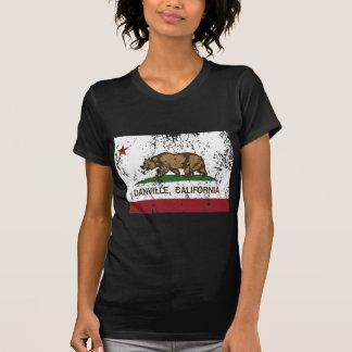 動揺してなカリフォルニア旗danville tシャツ