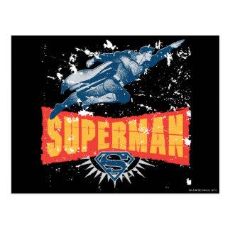 動揺してなスーパーマン ポストカード
