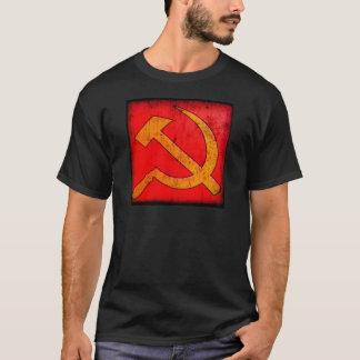 動揺してなソビエトソ連国旗のTシャツ Tシャツ