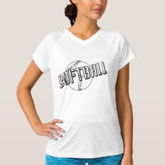 動揺してなソフトボール Tシャツ