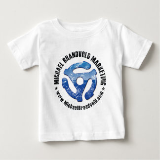 動揺してなロゴを販売しているミハエルBrandvold ベビーTシャツ