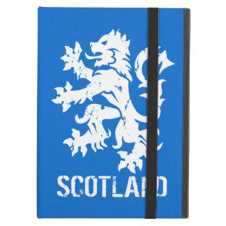 動揺してなヴィンテージのスタイルのスコットランドの手がつけられないライオン iPad AIRケース