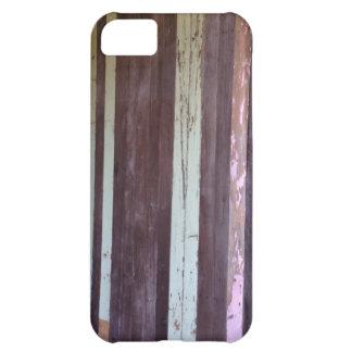 動揺してなヴィンテージの材木Palings iPhone5Cケース