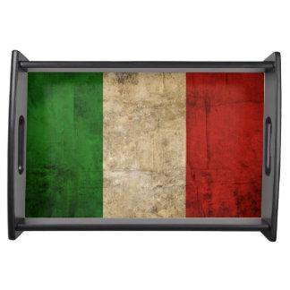動揺してな国旗|イタリア トレー