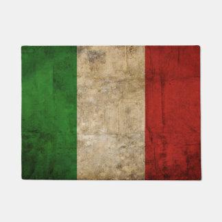 動揺してな国旗|イタリア ドアマット