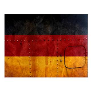 動揺してな国旗|ドイツ ポストカード