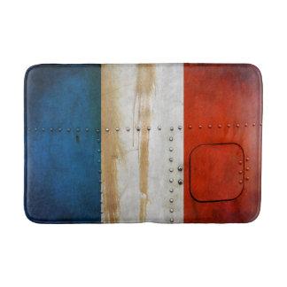 動揺してな国旗 フランス バスマット