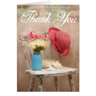 動揺してな椅子の青い球の瓶の赤い帽子は感謝していしています カード