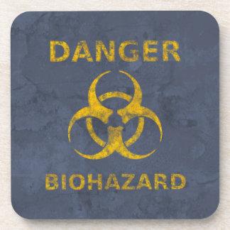 動揺してな生物学的災害[有害物質]の記号 コースター