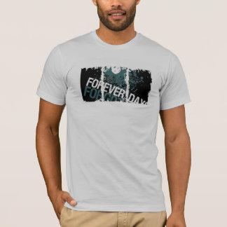 動揺してな箱のアメリカの服装のTシャツ Tシャツ