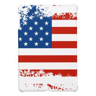 動揺してな米国旗 iPad MINIケース