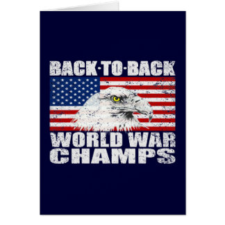 動揺してな続けて世界大戦のチャンピオン カード