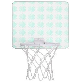 動揺してな花弁の雪片パターン ミニバスケットボールゴール