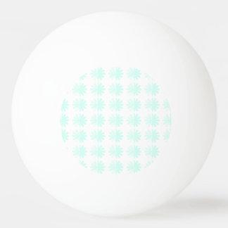 動揺してな花弁の雪片パターン 卓球ボール